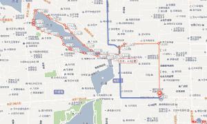 南锣鼓巷+鼓楼+烟袋斜街+后海一日游路线图
